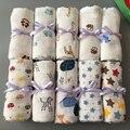 ¡ Caliente! 120x120 cm bath towel mantas swaddle bebé swaddle muselina del bebé recién nacido de algodón diseños múltiples funciones 6 tipos nuevo venta