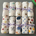 Hot! 120x120cm Muslin Newborn Baby Bath Towel Swaddle Blankets baby swaddle Cotton Multi Designs Functions 6 Types New Sale