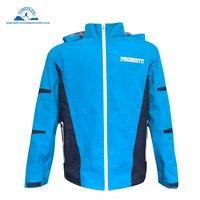 Для мужчин Велоспорт куртка ветрозащитный дышащий Легкий светоотражающие Термальность воротник стойка Водонепроницаемый горный велосипе
