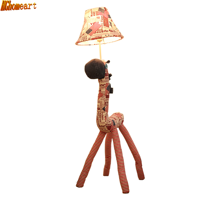 Hghomeart minimalist living room of creative child floor lamp hghomeart minimalist living room of creative child floor lamp fixture fabric cartoon childrens room aloadofball Images