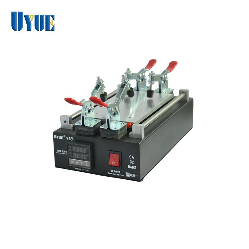 UYUE 948H LCD Touch Screen Separator Machine For Phone Screen Glass Removal Split Machine handy wristwatch screen glass removal tool blue silver