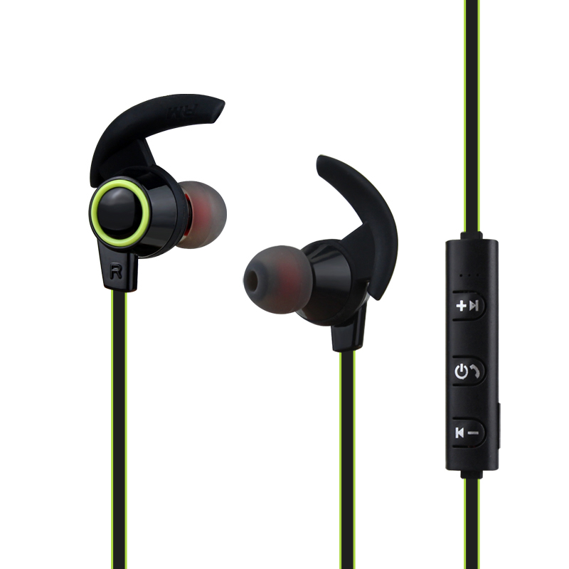 Wireless  Bluetooth Music  Headset Earphone  Sport Running  Bluetooth Headphone Stereo Earbuds With Microphone For Iphone Xiaomi hbs 760 bluetooth 4 0 headset headphone wireless stereo hifi handsfree neckband sweatproof sport earphone earbuds for call music