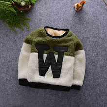Boys clothes boys winter coat sweatshirt fleece children clothing child shirt warm children clothing kids coat jacket clothing