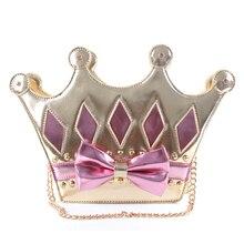 Princesa dulce lolita bolsa Corona set auger bolsa de moda un hombro desgastado portátil de 3 vías de paquete femenino bag10