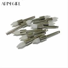 APINKGIRL100pc / box Dental Professionelle Polieren Pinsel Zähne Polieren Whitening Nylon Spitze Pinsel Mit Griff Polierer Einweg