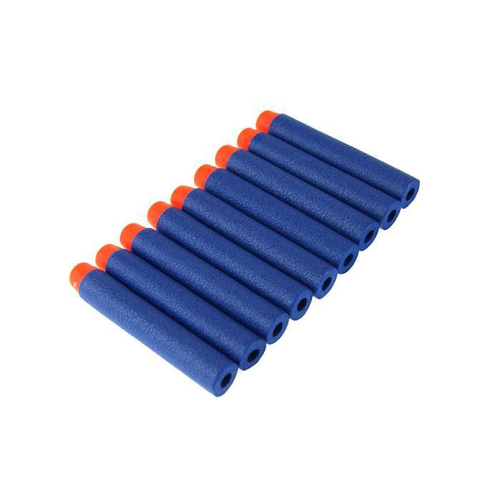 50pcs/set For Nerf Gun Toy Elite Rampage Retaliator Series Blasters Refill Clip Darts Toy Gun Soft Bullet