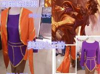 2016 Anime Game Taliyah Cosplay Costume LOL the Stoneweaver