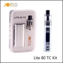 RU Stock! JomoTech 2600 mAh 80 w TC Vaporisateur Mod Jomo Lite 80 Cigarette Électronique Kit VW 5-80 w E Cig Boîte de Mod Avec 2.0 ml Réservoir Jomo-130
