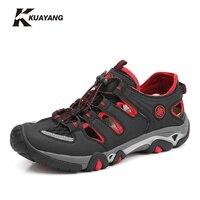 Men Sandals 2016 New Arrive Men S Casual Sandals Super Breathable Skynet Lightweight Summer Shoes Breathable