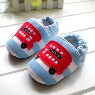 Весна и лето, мягкая подошва скольжению хлопок производства обуви обувь одного 0-1 лет в помещении скольжению обувь, пол