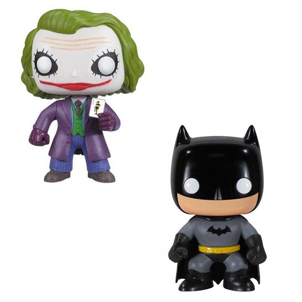 Batman VS Joker Model 10cm Vinyl Doll Action Figure Toys