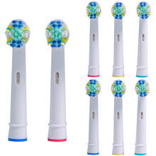 8PCS Toothbrush Heads for Oral B Braun Toothbrush Heads Oral B Compatible with power/Pro health/Triumph/3D Excel недорого