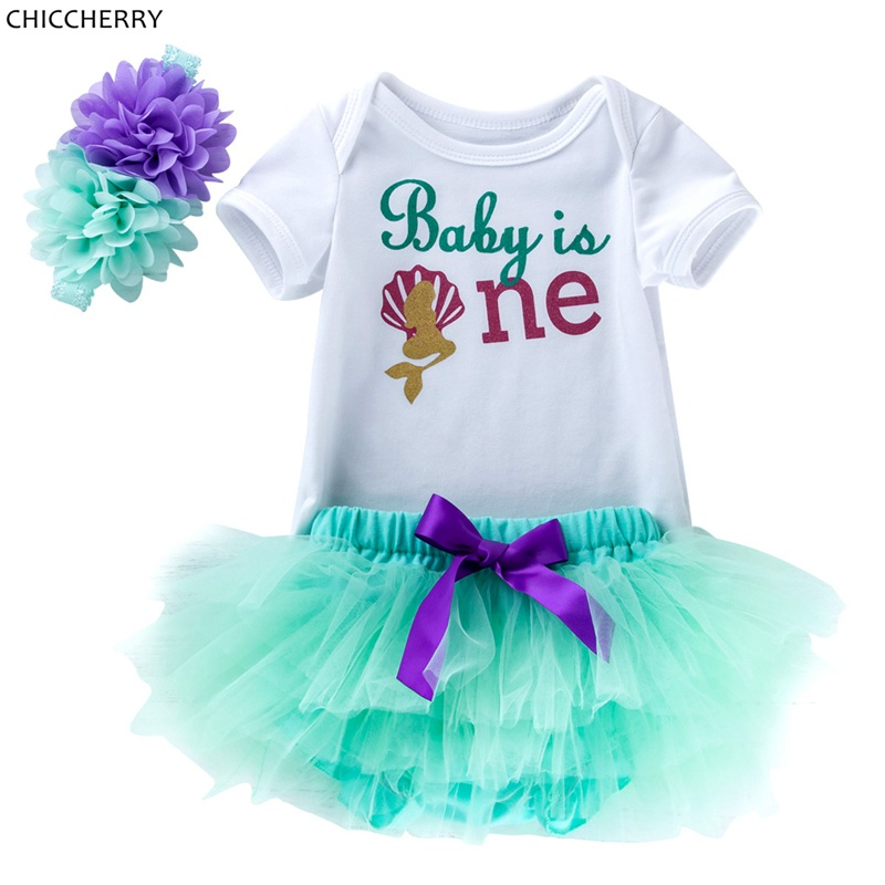 Baby Girl Summer Clothes | 1 Year Birthday Dress Fashion Baby Girl Summer Clothes Girls Bodysuits Lace Skirts Headband Newborn Tutu Sets Infant Clothing