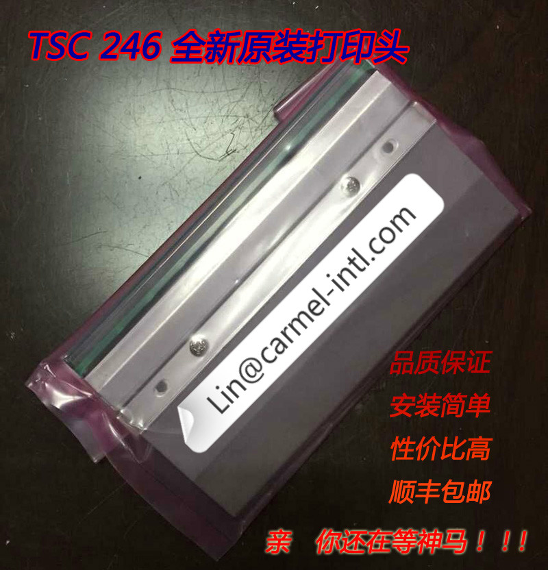 Printhead TSC TTP-246M Plus (203dpi)  Bar Code Printer Print Head For TSC TTP 246m 246m pro plus Thermal Head Printhead On Sale photography light lamp bulb professional daylight lamp 210v household studio accessory lighting fixture