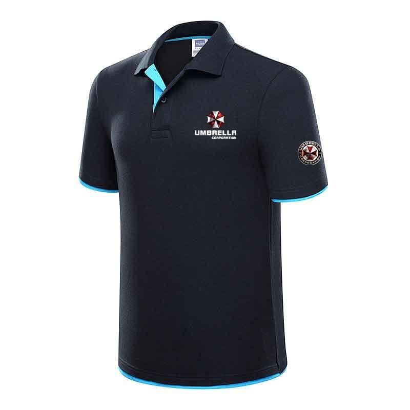 Brand New Umbrella men's   polo   shirt men short sleeve cotton shirts Men Short jerseys Summer   Polos   Brand Clothing