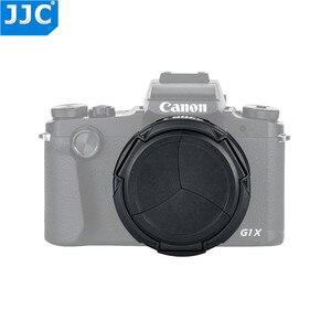 Image 4 - Jjc専用自動開閉するレンズキャップレンズプロテクターキヤノンのpowershot G1Xマークiii G1X M3 デジタルカメラ自動レンズキャップ