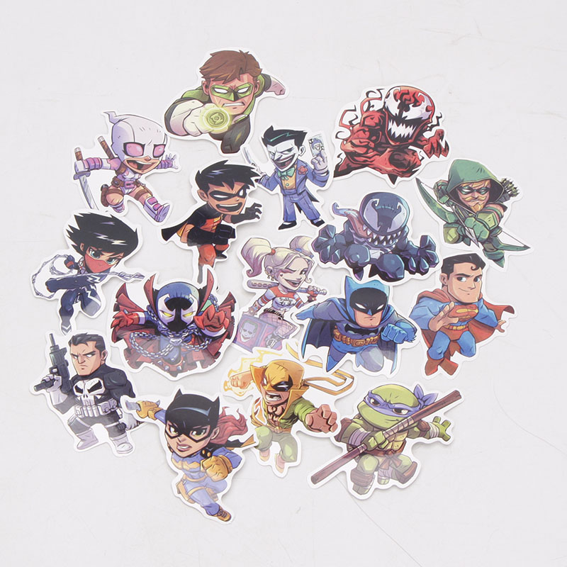 Image 3 - 101pcs/set Marvel Toys Avengers Endgame Stickers Super Hero Hulk Iron Man Spiderman Captain American Car Sticker for Luggage-in Action & Toy Figures from Toys & Hobbies