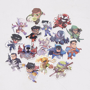 Image 3 - 101pcs/set Marvel Toys Avengers Endgame Stickers Super Hero Hulk Iron Man Spiderman Captain American Car Sticker for Luggage