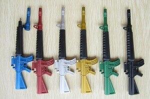 Image 3 - 30 pz/lotto giocattolo Creativo pistola penna a sfera come scuola stazionario, fucile mitragliatore penna a sfera disegno per i bambini