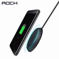 ROCK Qi Wireless Charging Disk Wirelese Fast Charger For Samsung S7 S7 Edge S6 S6 Edge
