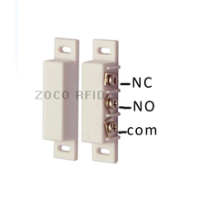 NC and NO two kinds type  Wired Metal Roller Shutter Door Magnetic Contact Switch Alarm  Door Sensor for Home Alarm System