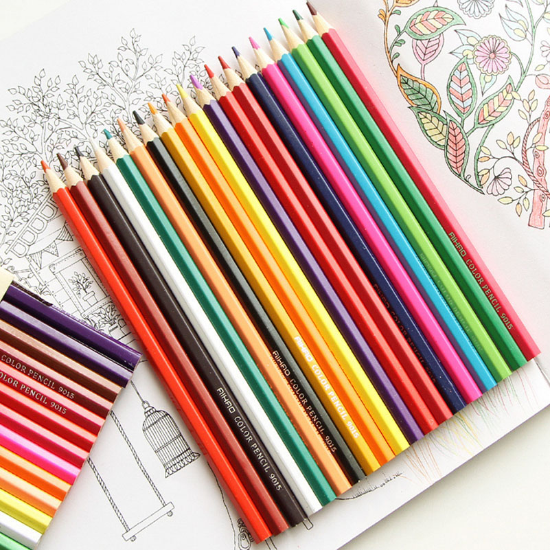 Colored Pencils for Drawing Painting Candy Colors Lead Coloring Pencil for Stationery Office School Supplies канцелярские кнопки drawing pin creative office 136