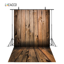 Laeacco Wood Background Photography Plank Board Texture Cake Food Baby Doll Portrait Photographic Backdrop Photocall Photostudio