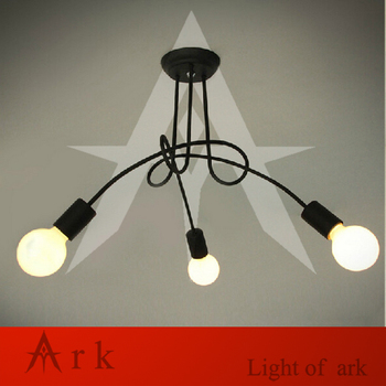 ark light Hot Sale Fashion Design of Kids Room Lamp Nordic Dome Light 3/5 heads led Ceiling Lights for Home Decor Free Shipping