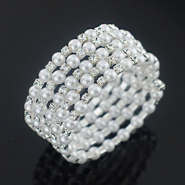 Imitation Pearl Crystal...