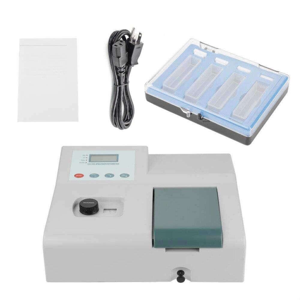 Model 721 Visible Spectrophotometer Wavelength Range 350 1020nm UV Tester Spectrometer Bandwidth 6nm High Precision Light Meter