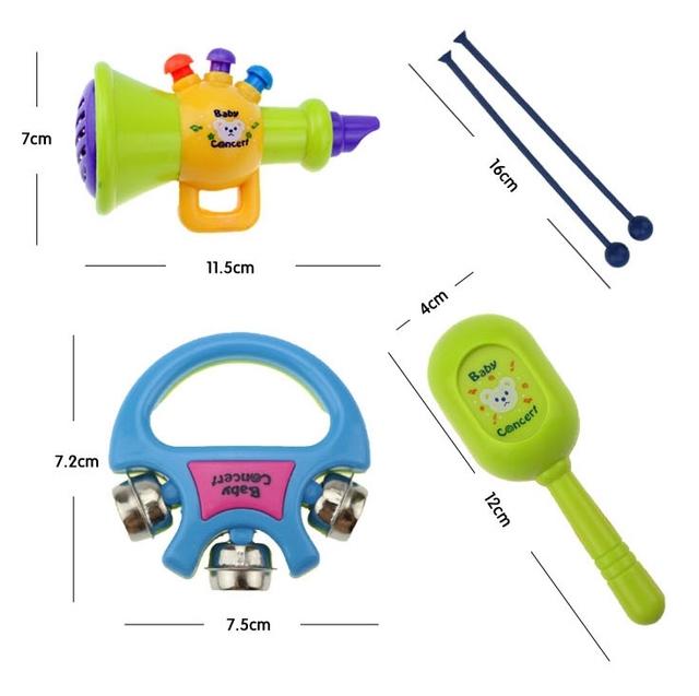 Kids Musical Instruments Set