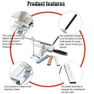 Image 3 - Bıçak kalemtıraş Ruixin Pro III tüm demir çelik profesyonel şef bıçak kalemtıraş mutfak bileme sistemi Fix açı 4 Whetston