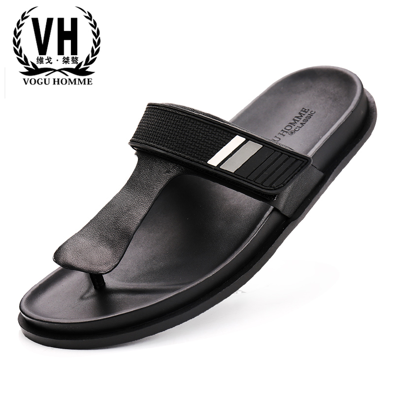 Genuine Leather flip-flops men summer casual slippers outside men's Rome sandals Sneakers male Slippers cowhide Leisure shoes summer genuine leather male sandals sneakers men slippers flip flops casual men s shoes beach outdoor all match cowhide leisure
