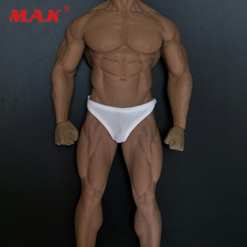 цена на 1/6 Scale Male Figure Clothes Accessory Sports Fitness Casual Briefs Underwear Clothing for 12'' Man Action Figure Body