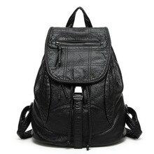 2017 новое дизайнерское PU кожаная сумка высококачественные кожаные женские рюкзаки Bolsos Mujer школьный рюкзак для девочек Дорожная сумка Рюкзак
