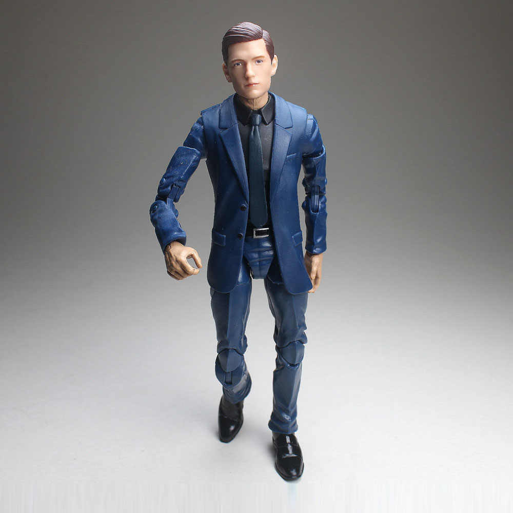 "Vingadores Marvel Legends Infinito Guerra Tom Holland Na Cabeça do Regresso A Casa Azul Do Homem Aranha Terno Corpo 6 ""Loose Action Figure"