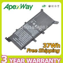 7.5V 37Wh New Battery C21N1347 Laptop Battery For ASUS X554L X555 X555LD F555A X555L X555LB X555LN F555U W519L X555LP F555UA VM(China)