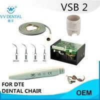 2 set VSB2 Satelec DTE Gnatus dental cleaner oral hygiene in teeth cleaning and teeth whitening for dental chair