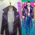 2016 Recién Llegado de Comando Suicida Jared Leto Batman Joker Chaqueta Trench Coat Cosplay Escudo de Vestuario