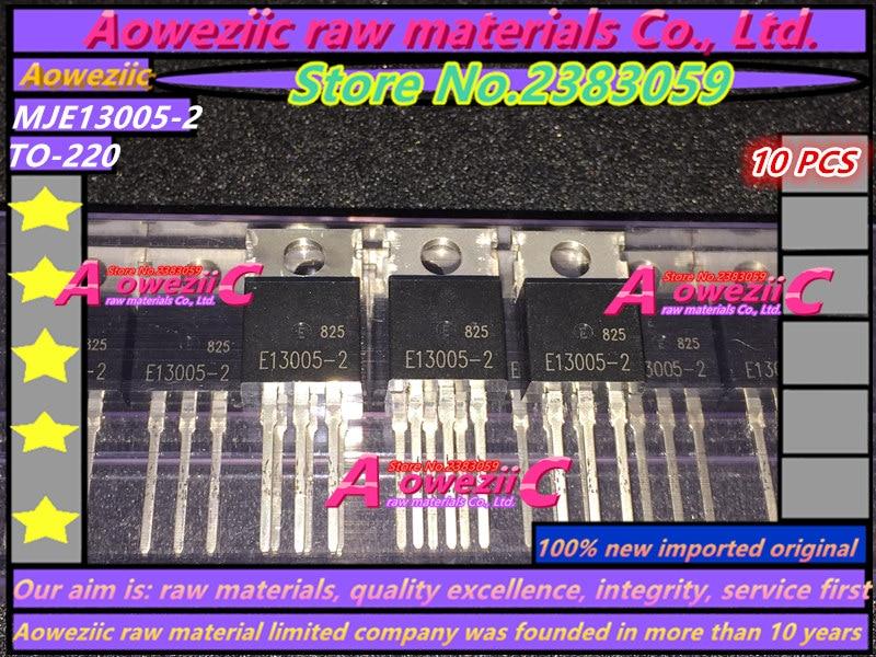 Aoweziic 100% новая импортная оригинальная MJE13005-2 E13005-2 E13005 К-220 Триод