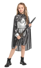 Children's Halloween Armor Warrior Performance Clothing Prince Performance Costume Purim Party dress