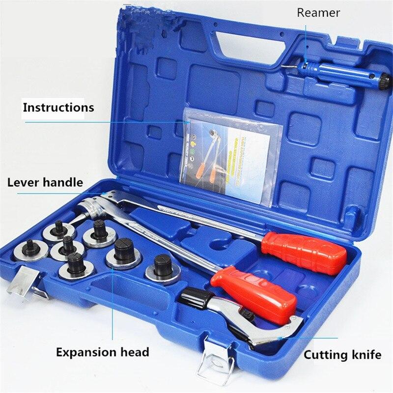Труба Место Инструмент для вальцовщики Tool CT-100A диапазоне от 10 до 28 мм или 1/2 до 11/8 трубы Expander инструмент