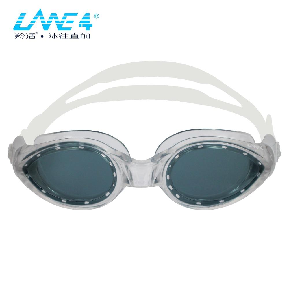 LANE4 Óculos de Natação Anti-fog UV óculos de natação óculos de Proteção À Prova D' Água Leve para Adultos mulheres #147 Eyewear