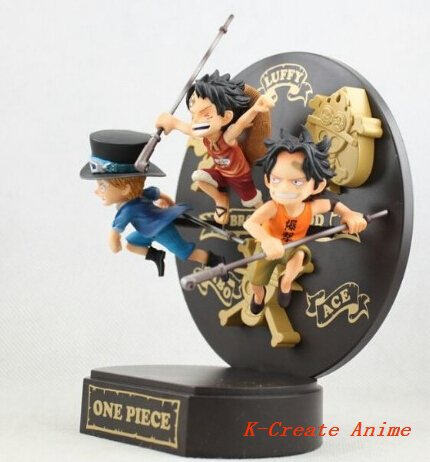 ФОТО Free shipping 1pcs One Piece Luffy Ace action pvc figure tall 12cm.1pcs one piece pvc doll packed in box.