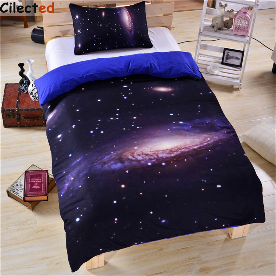 popular galaxy beddingbuy cheap galaxy bedding lots from china  - cilected hot galaxy bedding set universe outer space themed galaxy printduvet cover with pillowcases soft
