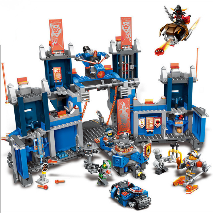 Building Block Model 14006 Compatible with NEXOE Knights Figures The Fortrex 70317 Educational Toys For Children Gift for Boy decool 3114 city creator 3in1 vehicle transporter building block 264pcs diy educational toys for children compatible legoe