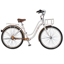 26″  Hot Selling Retro Style 3-Gear Shaft Drive No Chain Commuter Bike Fahrrad for Girls, Ladies Bicycle,  City Bike
