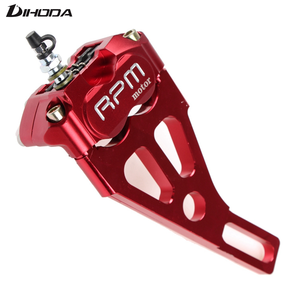 Motorcycle modification electric motorcycle four piston brake calipers pump RPM 220 for WISP RSZ Turtle King small radiation adelin adl 21 motorcycle modification electric motorcycle double piston brake calipers for wisp rsz yamaha small crab calipers