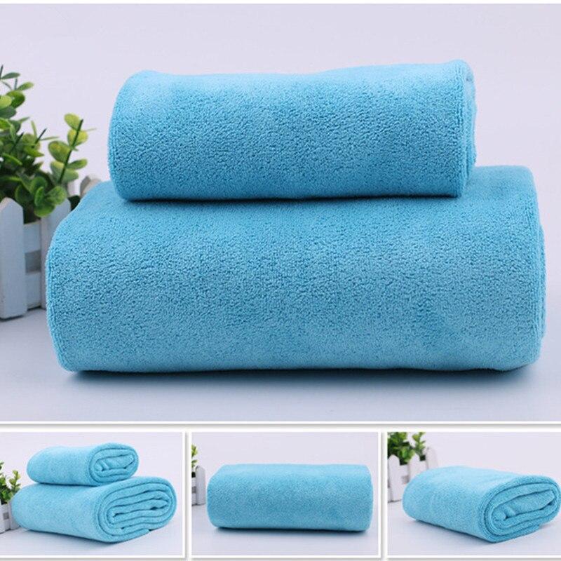1 stücke luxus mikrofaser absorbent gesicht tuch + bad towel camping reise strand towel hotel gym sport waschlappen stoff serviette