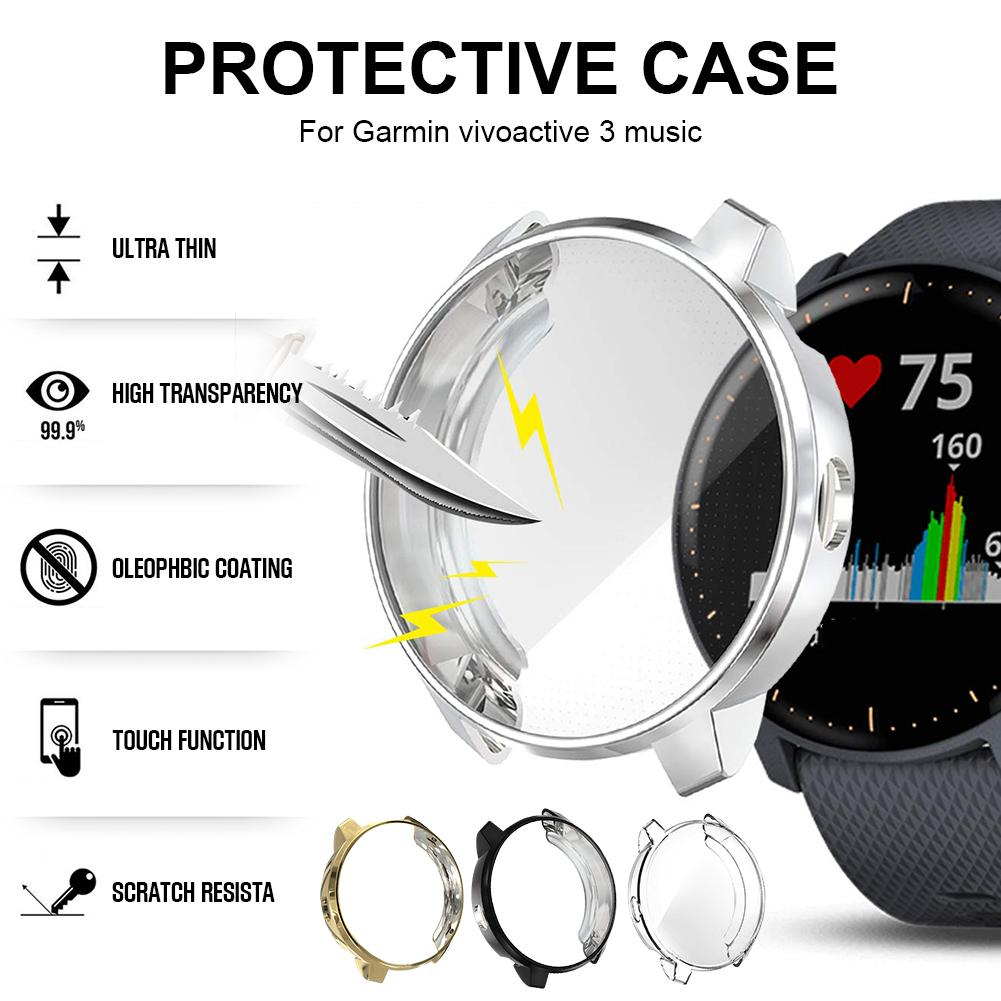 Cover-Shell Protective-Case-Protection Scratch-Proof-Case Smart-Watch Garmin Vivoactive